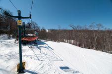 Free Ski Lift Stock Image - 29743311