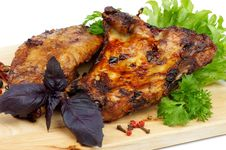 Free Pork Ribs Stock Image - 29744991