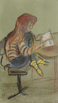 Free The Reading Girl Stock Photo - 29750620