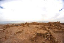 Free Masada Fortress Royalty Free Stock Photo - 29765945