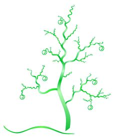 Free Fantasy Green Tree. Royalty Free Stock Images - 29768059