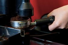 Free Coffee Maker Machine Stock Image - 29769411