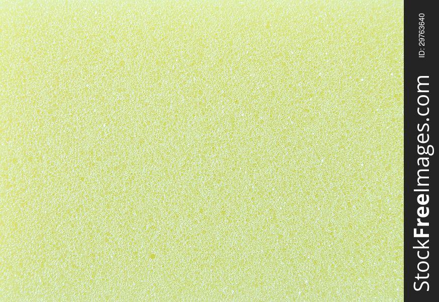 Abstract yellow sponge texture