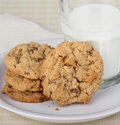 Free Milk And Cookies Stock Photography - 29771182