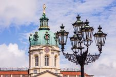 Free Tower Of The Charlottenburg Palace Stock Images - 29778884
