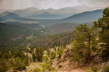 Free Rocky Mountain Landscape Stock Image - 29779651