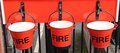 Free Fire Buckets. Royalty Free Stock Image - 29780406