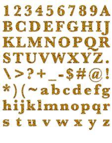 Free Fashion Amber Stone Alphabet Royalty Free Stock Images - 29782429