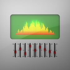 Free Equalizer Stock Photography - 29782742