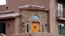 Free Arizona House Front Entrance Stock Photography - 29782962