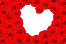 Free Many Roses, Inside The Heart Stock Photos - 29787153