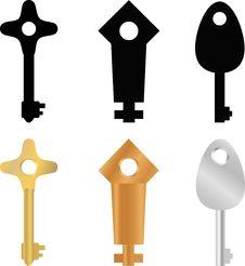 Free Original Keys Stock Image - 29790691