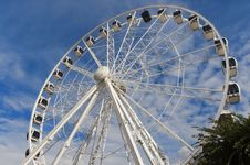 Cape Wheel In Cape Town Royalty Free Stock Photos