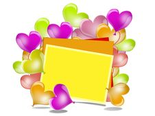 Free Balloons. Heart. Frame For Text. Stock Photography - 29791612