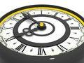 Free Clock. Nine O Clock Royalty Free Stock Photography - 2982207
