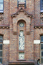 Free Ornamented Brick Facade Royalty Free Stock Photos - 2983218