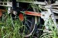 Free Old Steam Locomotive Wheel Royalty Free Stock Photo - 2983865