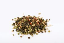 Free Multi Color Pepper Seeds Stock Photography - 2980392