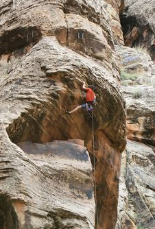 Free Rock Climbing Royalty Free Stock Photos - 2980678