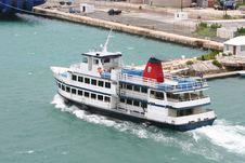 Empty Ferry Royalty Free Stock Photography