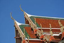 Free Temple Roof Royalty Free Stock Images - 2981889