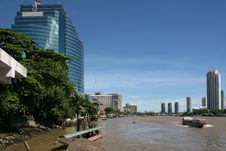 Free Chao Praya River Royalty Free Stock Photo - 2981945