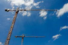 Free Cranes Stock Photo - 2981960