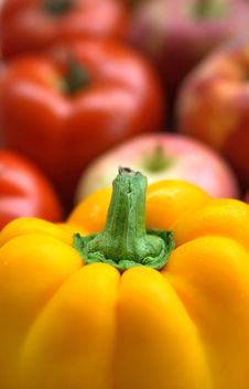 Free Set Of Different Vegetables Royalty Free Stock Photography - 2982507