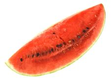Free Water Melon Isolated On White Stock Photo - 2982690