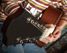 Free Playing Guitar See Other Photo Stock Photo - 2982750