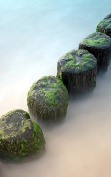 Free Artificial Groynes, As A Defend Stock Photo - 2983020