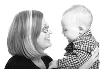 Free Mommy And Baby Stock Image - 2983101