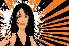 Free Grunge Female Royalty Free Stock Image - 2983186