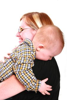 Free Hugging My Mommy Stock Images - 2983474