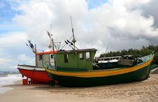 Free Fishing Boat Stock Photo - 2983930