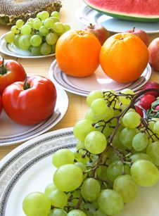 Free Colorful Vegetables And Fruit Stock Photo - 2984740