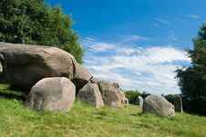 Free Dolmen (stones) With Blue Sky Royalty Free Stock Images - 2984939