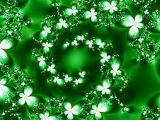 Free Swirl Of Flowers Stock Photo - 2985190