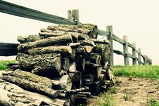 Free Wood Pile Stock Photo - 2985410