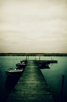 Free Pier With Boats Stock Photos - 2985573