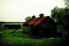 Decrepit Barn Royalty Free Stock Image