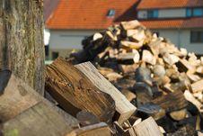 Free Firewood II Royalty Free Stock Photos - 2985868