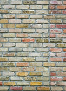 Free Brick Wall Texture Royalty Free Stock Images - 2985959