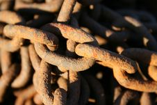 Free Rusty Chain Stock Image - 2986101