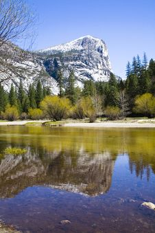 Yosemite Park - Half Dome Stock Photos