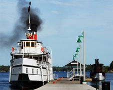 Free Vintage Steamships Stock Photo - 2987240