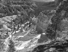 Free The Bryce Canyon National Park Royalty Free Stock Photo - 2988815