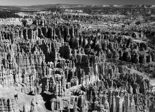 The Bryce Canyon National Park Royalty Free Stock Image
