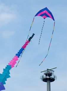 Free Colorful Kite At Blue Sky Stock Image - 2988931