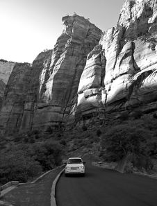 Free The Zion National Park Royalty Free Stock Photography - 2989367
